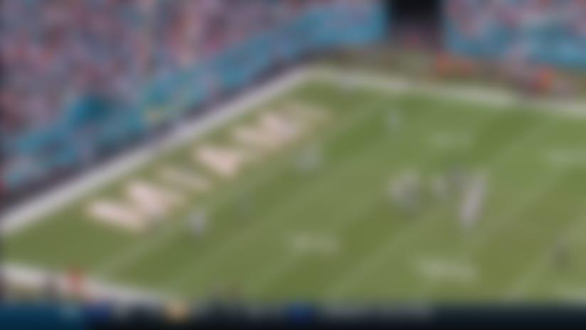 Preston Williams gets behind Jamal Adams for 12-yard TD grab