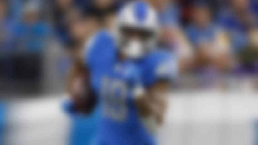 Detroit Lions wide receiver Kenny Golladay during the first half of an NFL football game against the Minnesota Vikings, Sunday, Dec. 23, 2018, in Detroit. (AP Photo/Rey Del Rio)