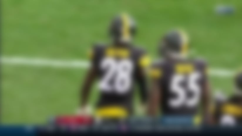 Mike Hilton leaps in front of Kenny Stills for key INT