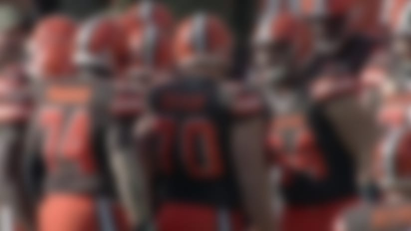 Cleveland Browns offensive guard Joel Bitonio explains why quarterback Baker Mayfield is someone 'you want to play for'