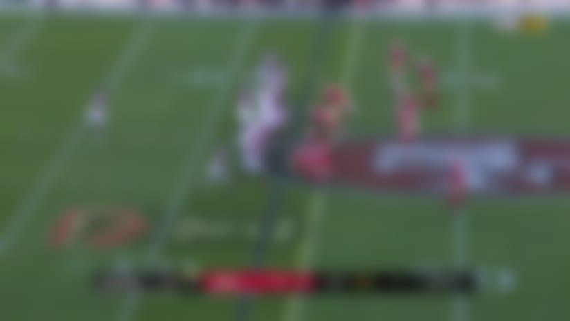 Brian Hill gashes 49ers D during 16-yard run