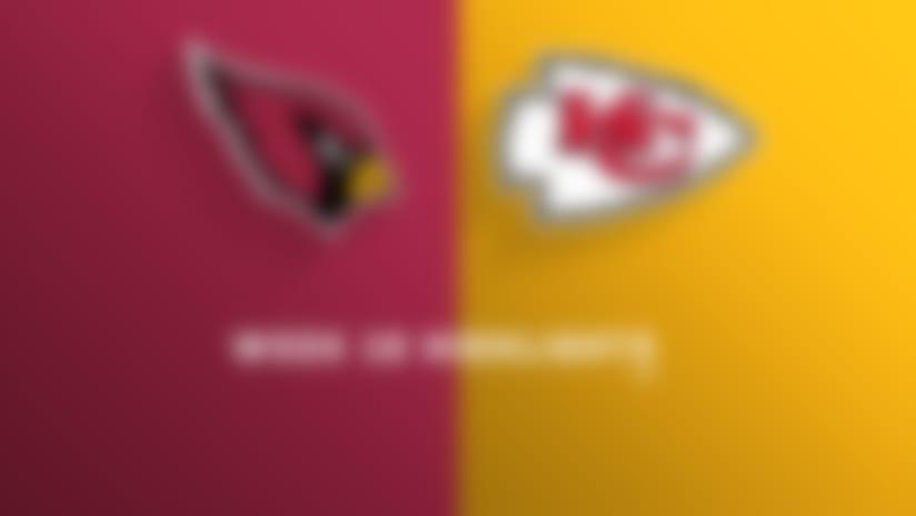 Cardinals vs. Chiefs highlights | Week 10
