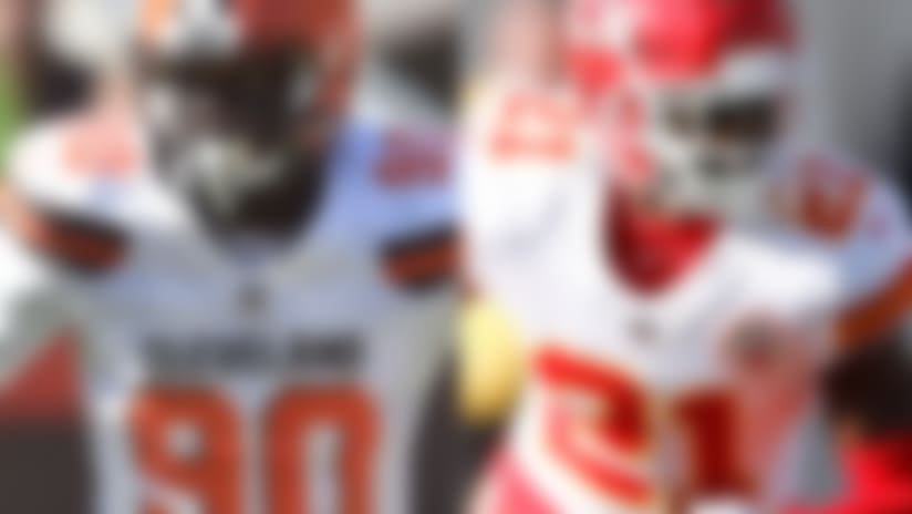 Browns trade DE Ogbah to Chiefs for Eric Murray