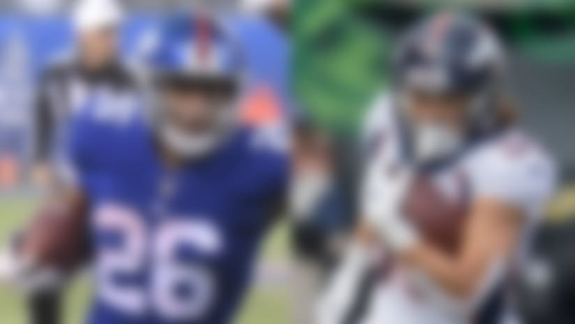 2018 NFL All-Rookie Team, offense: Saquon at RB