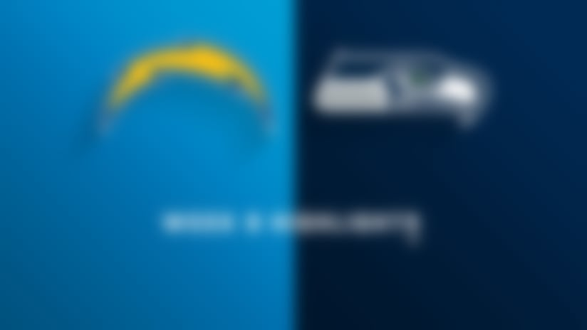 Chargers vs. Seahawks highlights   Week 9