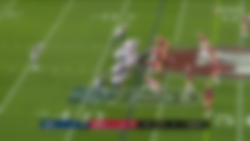Reynolds turns Goff's rollout throw into 24-yard catch and run