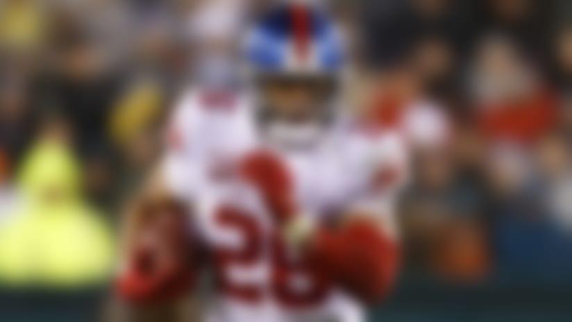 New York Giants running back Saquon Barkley (26) runs the football during an NFL football game against the Philadelphia Eagles, Monday, Dec. 9, 2019, in Philadelphia. The Eagles defeated the Giants in overtime, 23-17. (Ryan Kang via AP)