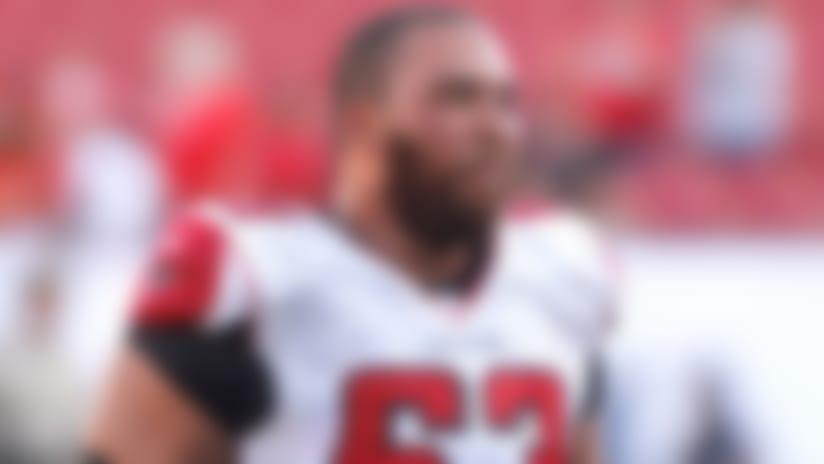 Atlanta Falcons release veteran guard Justin Blalock