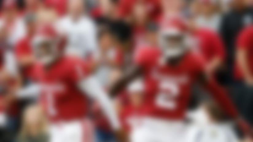 Former Oklahoma Sooners quarterback Kyler Murray and wide receiver CeeDee Lamb