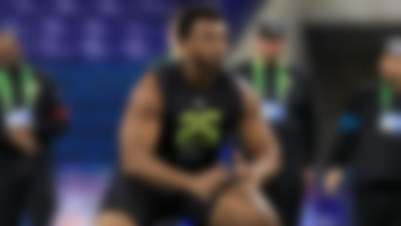 Austin Jackson's 2020 NFL Scouting Combine workout