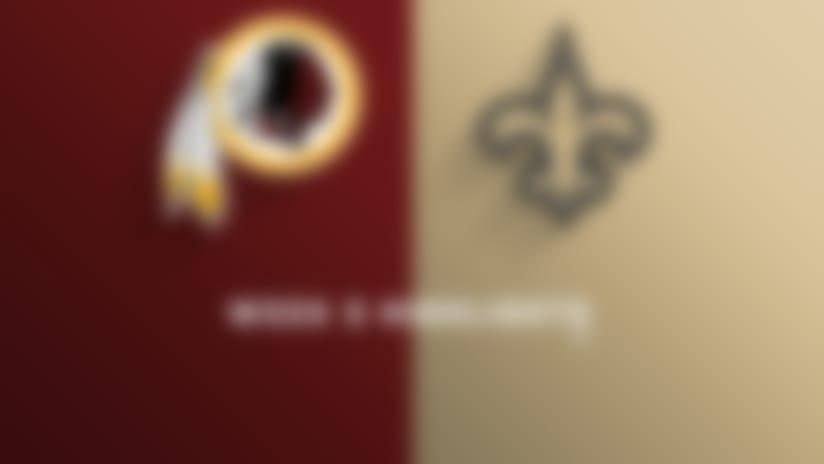 Redskins vs. Saints highlights | Week 5