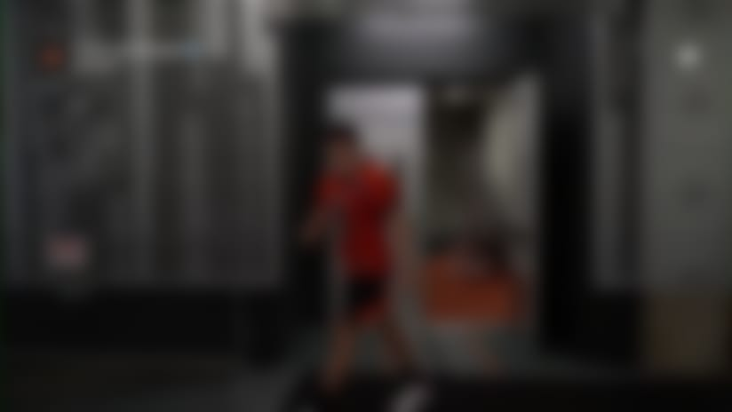 First look: Joe Burrow hits field Bengals practice uniform