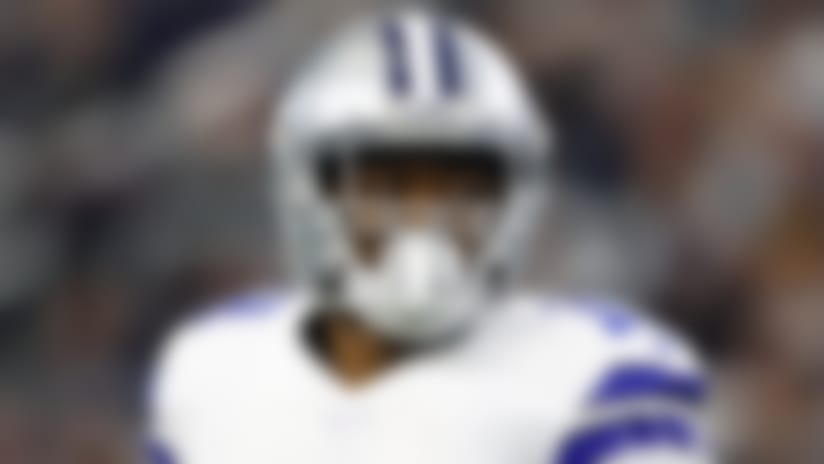 Dallas Cowboys wide receiver Amari Cooper (19) jogs from the huddle during an NFL football game against the Washington Redskins, Sunday, Dec. 29, 2019, in Arlington, Texas. The Cowboys beat the Redskins 47-16. (Matt Patterson via AP)