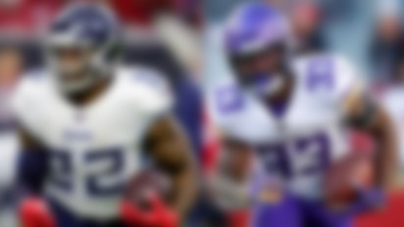 PFF's Chahrouri examines contract situations for Dalvin Cook, Derrick Henry