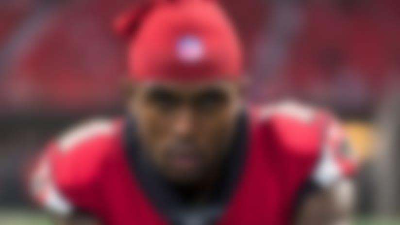 Atlanta Falcons wide receiver Julio Jones (11) during an NFL regular season football game against the Minnesota Vikings on Sunday, Dec. 3, 2017 in Atlanta. The Vikings won, 14-9. (Ric Tapia/NFL)