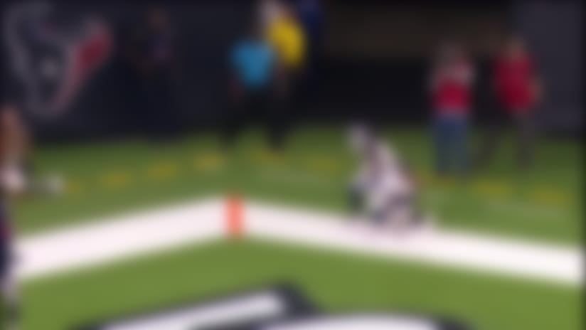 John Wolford lofts perfect over-the-shoulder dime for 15-yard TD