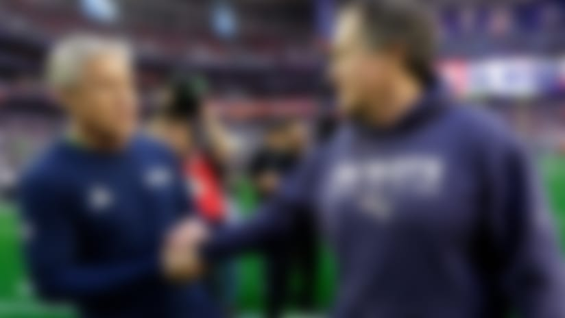 History will be made when Bill Belichick, Pete Carroll meet once more