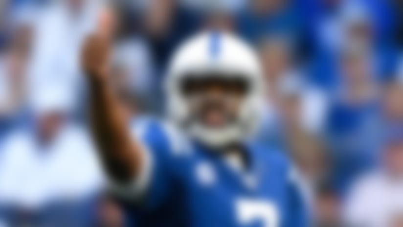 Jacoby Brissett's monster day moves Colts to top of AFC South