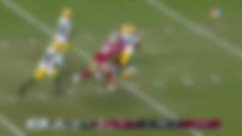 Jeff Wilson slices through Packers' D for explosive 25-yard run
