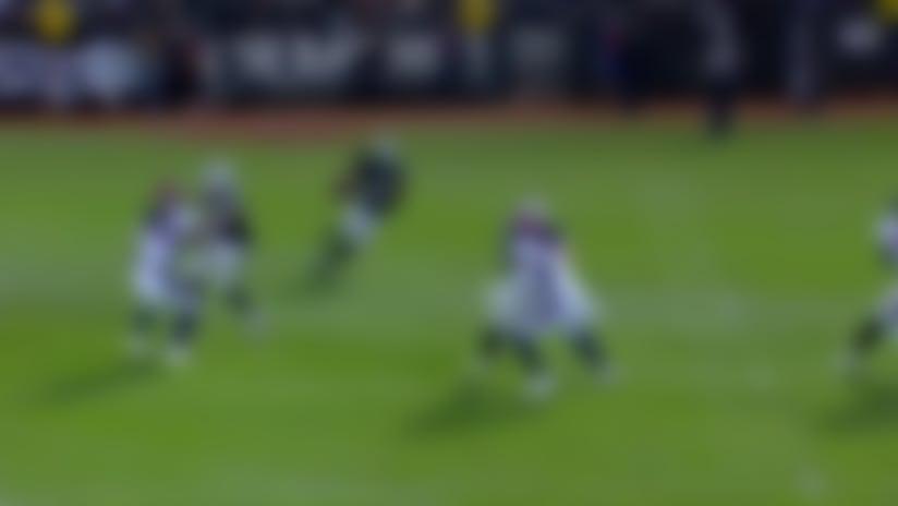 Harris weaves through Broncos' kickoff team for EPIC 72-yard return