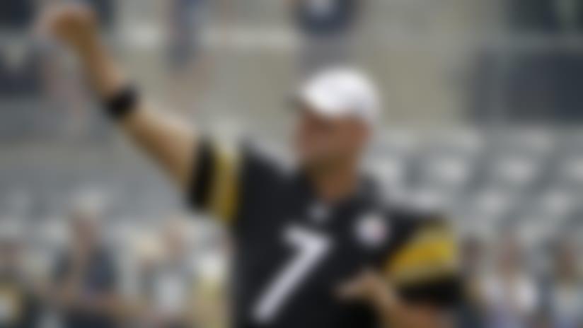 Ryan Switzer: Ben Roethlisberger 'let it rip' in throwing session