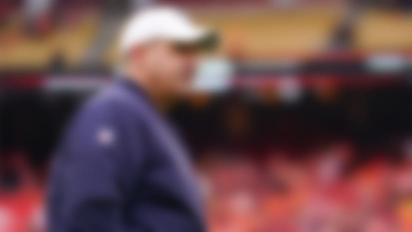 Houston Texans head coach Bill O'Brien is seen prior to an NFL football divisional playoff game against the Kansas City Chiefs, Sunday, Jan. 12, 2020 in Kansas City, Mo. (Cooper Neill/NFL)