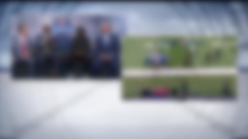 Simulcam: Rich Eisen runs 40 vs. top 2020 combine prospects