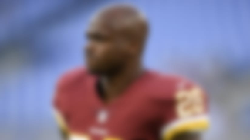 Adrian Peterson starting for Redskins Sunday vs. Cards
