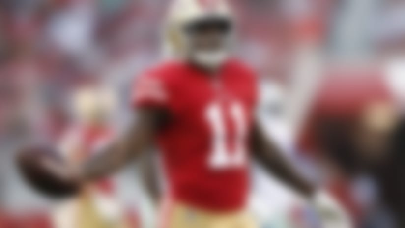 San Francisco 49ers wide receiver Marquise Goodwin