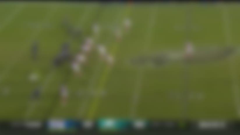 Arcega-Whiteside looks like an outfielder on 22-yard circus catch