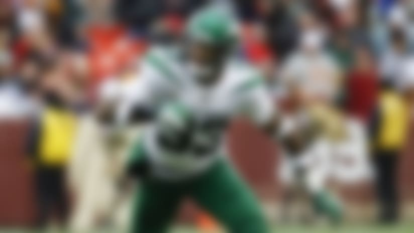 New York Jets strong safety Jamal Adams (33) during the second half of an NFL football game against the Washington Redskins, Sunday, Nov. 17, 2019, in Landover, Md. (AP Photo/Patrick Semansky)