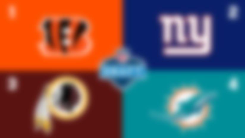 2020 NFL Draft order: Giants vault Redskins; Eagles in top 15
