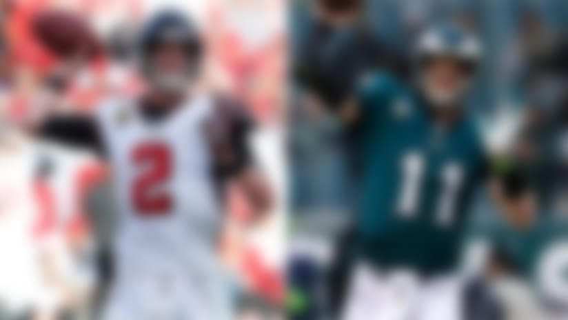 Ryan vs. Wentz: Which QB's 'Top 100' absence was a bigger snub?