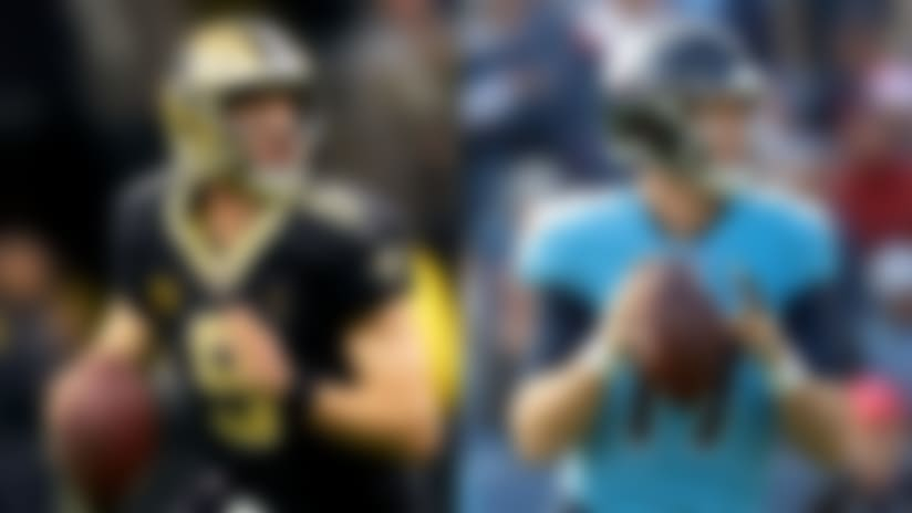Drew Brees, Ryan Tannehill among Players of the Month