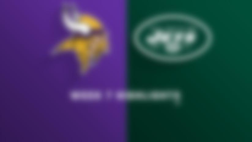 Vikings vs. Jets highlights | Week 7