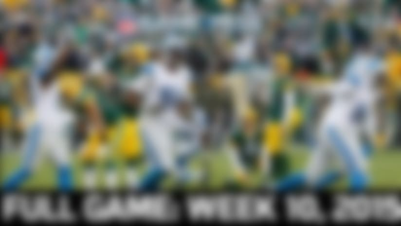 Full NFL Game: Lions vs. Packers - Week 10, 2015 | NFL Game Pass