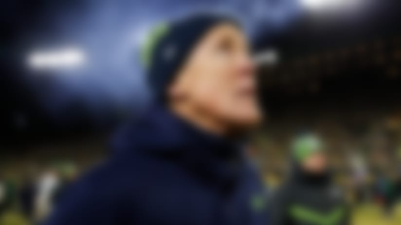 Pete Carroll on game-ending spot: 'It looked short'