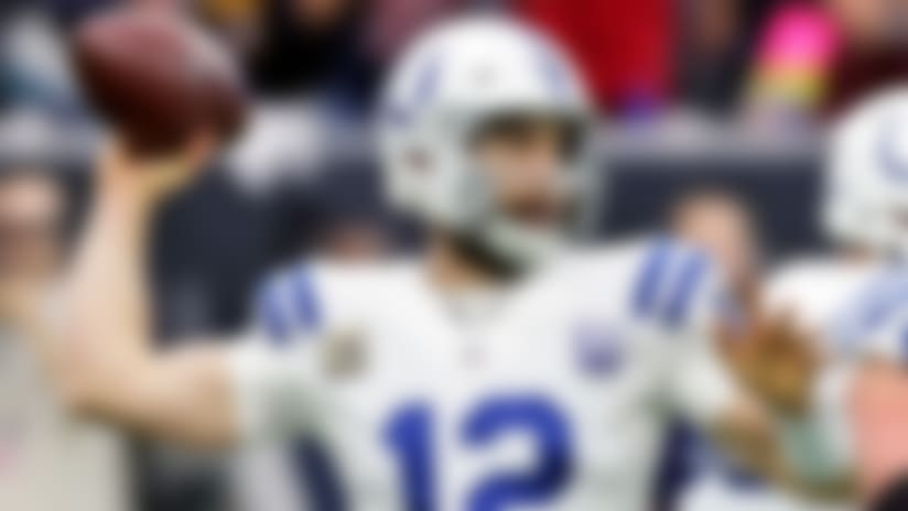 Andrew Luck (calf) will miss next three Colts practices