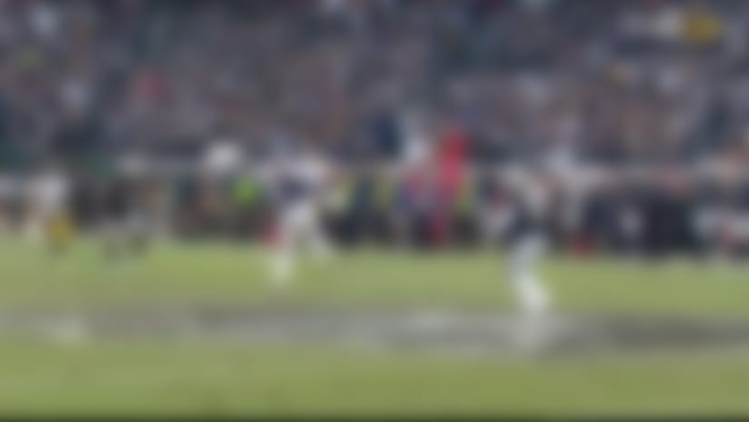 Whitehead snags deflection for INT at mid-field