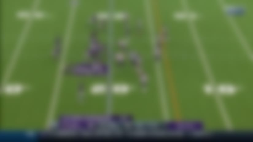 Charles Omenihu swallows Lamar on third down for Houston's fourth sack