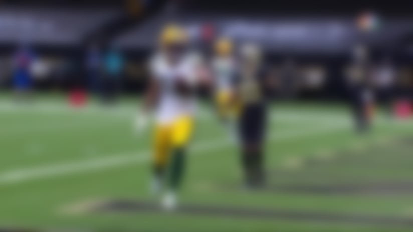 Aaron Rodgers puts Packers ahead with 5-yard toss to Allen Lazard