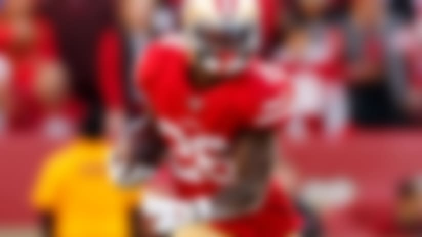 Niners' Tevin Coleman (shoulder) limited at practice