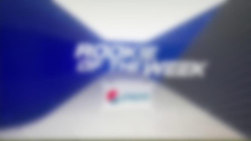 Pepsi Rookie of the Week winner | Week 17