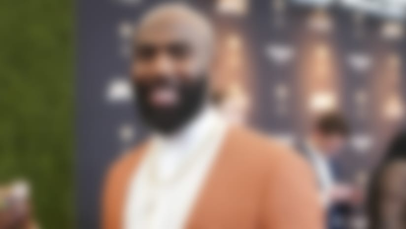 Philadelphia Eagles strong safety Malcolm Jenkins on the red carpet before the 9th Annual NFL Honors at the Adrienne Arsht Center on Saturday, Feb. 1, 2020, in Miami. (Todd Rosenberg via the AP)
