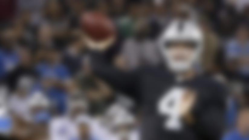 Raiders' Dennis Allen: Derek Carr suffered concussion