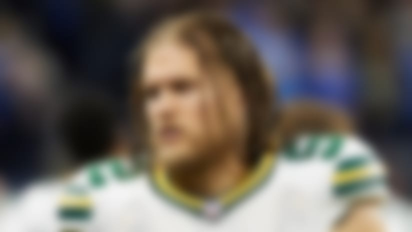 Green Bay Packers outside linebacker Clay Matthews (52) on the sideline against the Detroit Lions during an NFL football game at Ford Field in Detroit, Sunday, Dec. 31, 2017. (Rick Osentoski via AP Images)