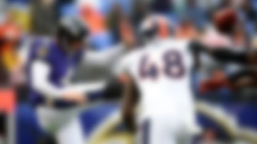 Joe Jones blocks Sam Koch's punt on Ravens' 6-yard line
