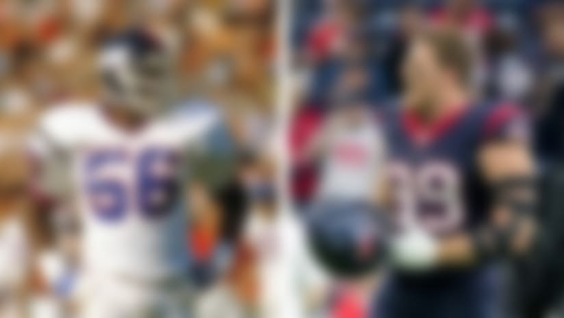 J.J. Watt vs. Lawrence Taylor: An impending G.O.A.T. debate?