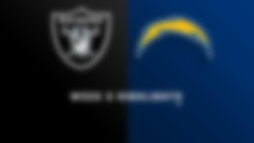 Raiders vs. Chargers highlights | Week 5