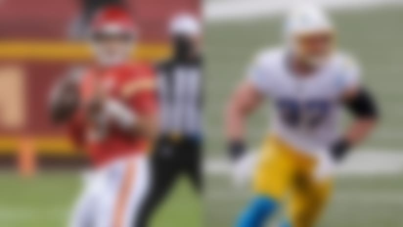 Top-paid offensive player Patrick Mahomes faces top-paid defender Joey Bosa